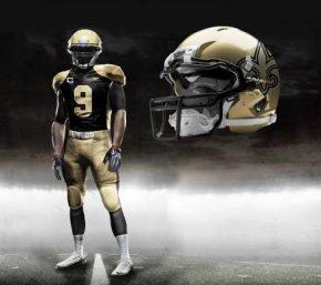 Saints new uniform
